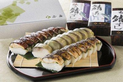 鯖寿し3種食べ比べセット(焼き鯖すし・...