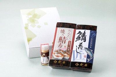 【期間限定】鯖寿し味比べセット(めん...