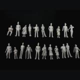 【未検品・アウトレット品】 1/100 未塗装 立っている 立体人形 約100体
