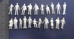 【未検品・アウトレット品】 1/100 未塗装 立っている 立体人形 約300体
