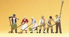 プライザー #10045 HO 耕す農家の人々