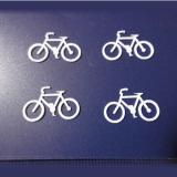1/100スケール自転車4台