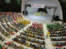 Nゲージ人形 エコノミー座る人 900体