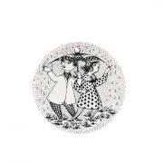Monthly plate April black