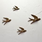 Flying Birds brown