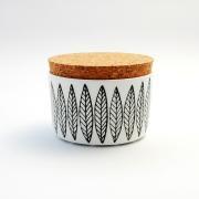 Black Salix Jar With Colk Lid  復刻版