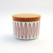 Red Salix Jar With Colk Lid  復刻版