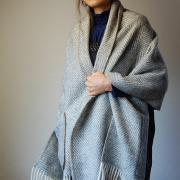 Shawl Maria gray
