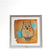 Art Frame Owl
