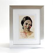 Art Frame Lady