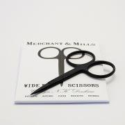 Wide Bow Black Scissors