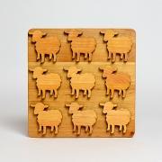 鍋敷き Sheep
