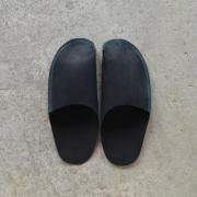 One Piece Slippers black