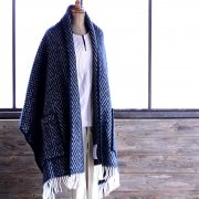 Shawl Iida black/white