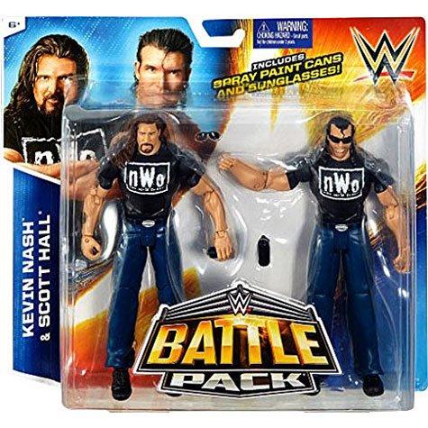WWEフィギュア バトルパック36 アウトサイダーズ(スコット・ホール&ケビン・ナッシュ)