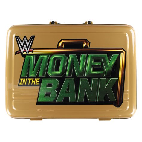 WWE Money In The Bank Collectors Case Yellow