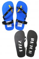 WARAJI Stamp sandal_SAVE BEACH