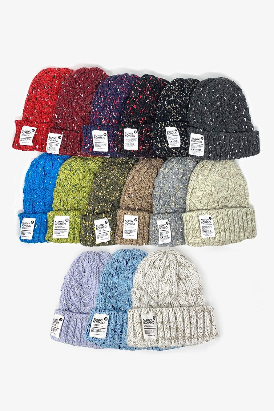 OUTDOOR ROPE KNIT WATCH CAP 1/2