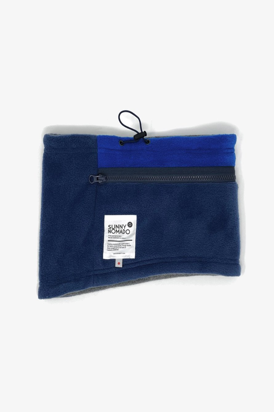POCKET WARMER BLUE×NAVY(ブルー×ネイビー)