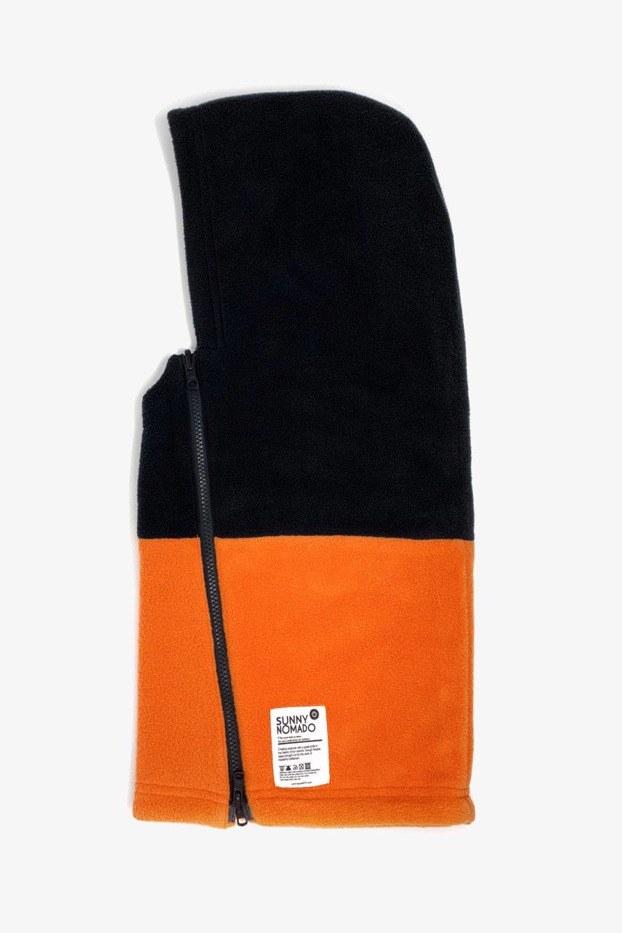 HOT-KAMURI(ホッカムリ) BLACK/ORANGE(ブラック/オレンジ)