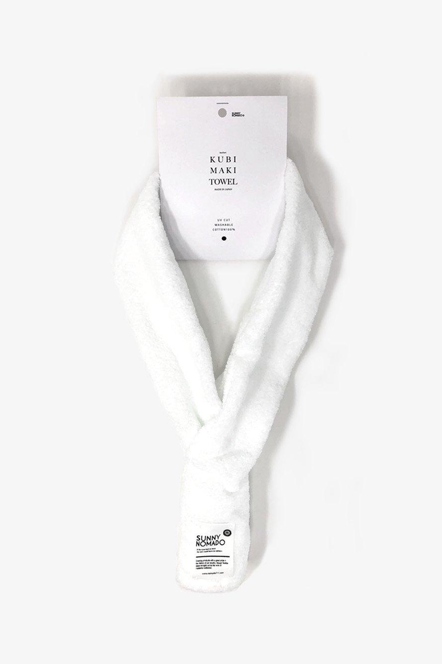 KUBIMAKI TOWEL( COTTON WHITE)