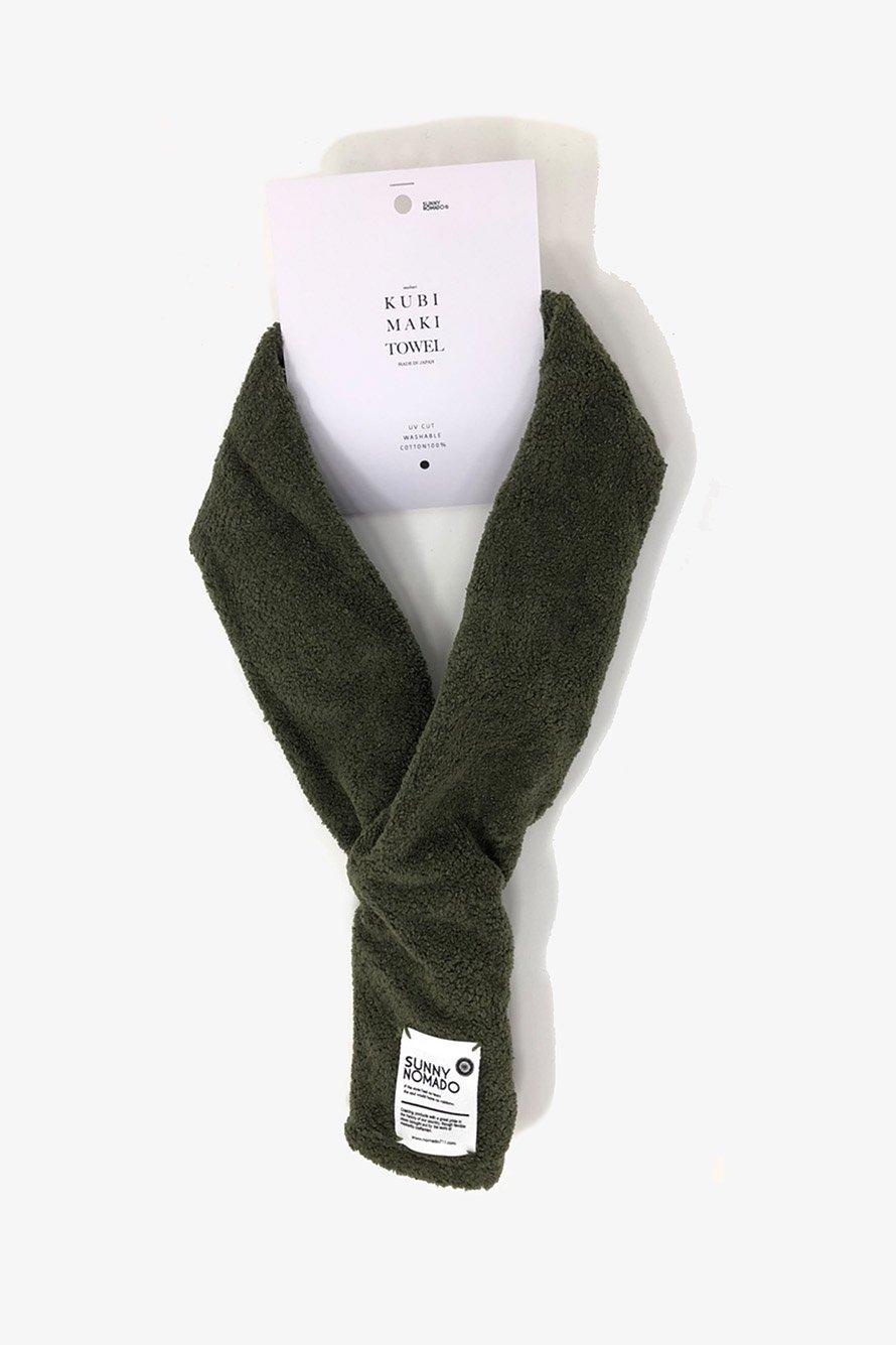 KUBIMAKI TOWEL( OLIVE GREEN)