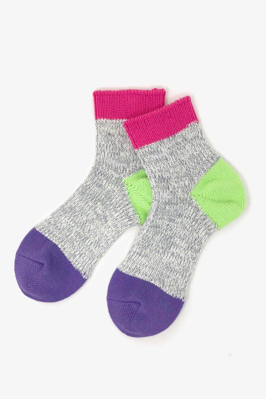 TMSO-121 【Kanga Hemp Socks】 PINK(ピンク)
