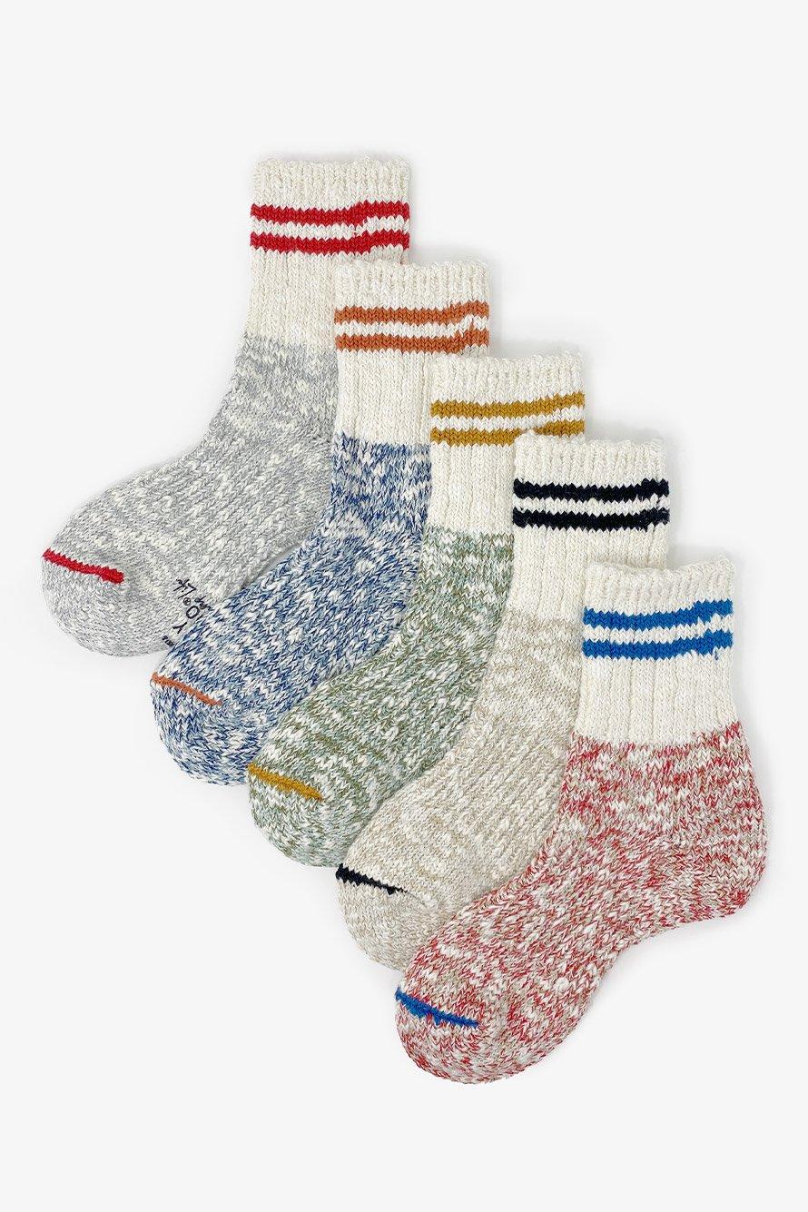 TMSO-140【 Campus 2 lines Hemp socks 】