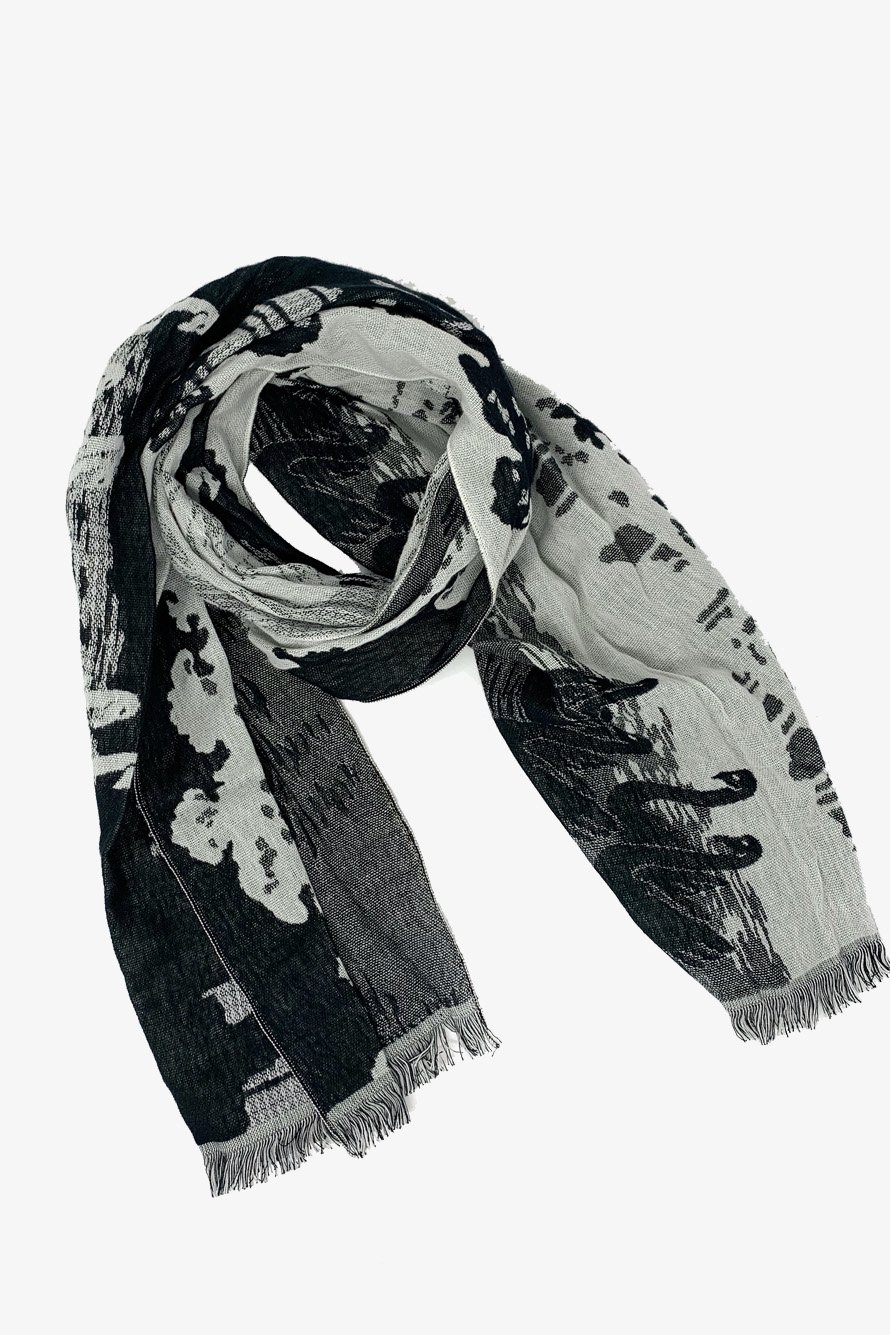 SWAN LIVER / STOLE TOWEL
