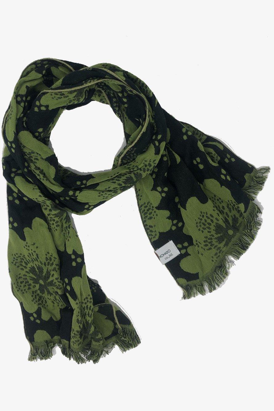 GREEN MAPLE/ STOLE TOWEL