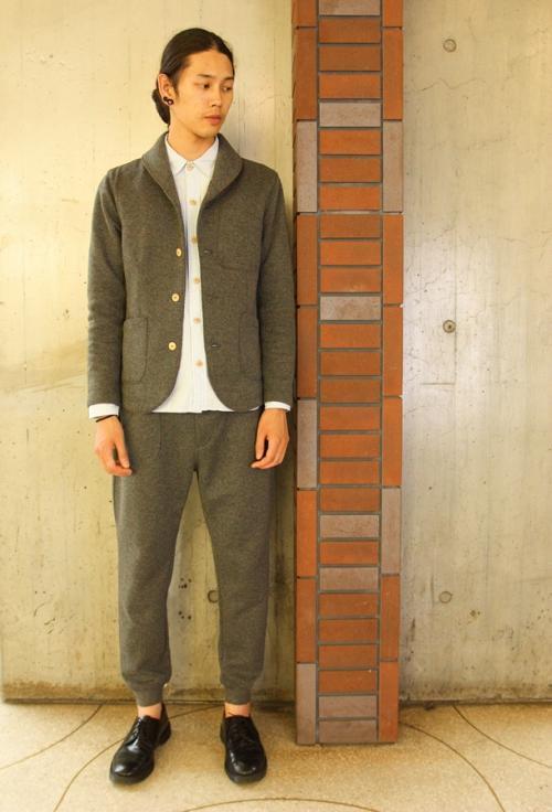Woolen Shawl Collar JKT