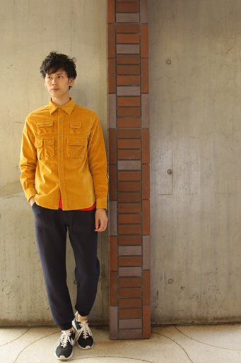 Multi Poket Coduroy Shirts
