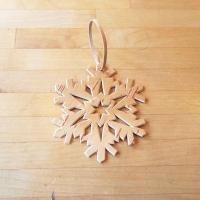 ロシア ベレスタ 白樺細工 クリスマスオーナメント 雪の結晶