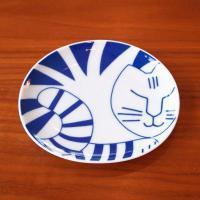 Lisa Larson / リサ ラーソン ごのねこ 豆皿 (とらねこ)