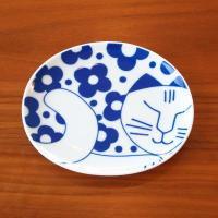 Lisa Larson / リサ ラーソン ごのねこ 豆皿 (はなねこ)