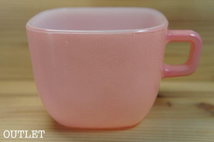 グラスベイク GLASBAKE リプトン スープマグ ピンク アウトレット 【訳あり】