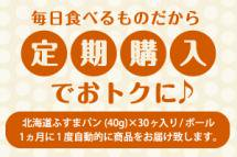 北海道ふすまパン (40g) ×30個入り/ボール 定期購入 画像1