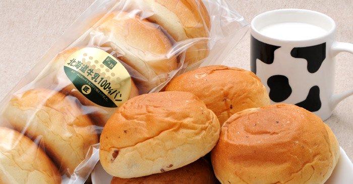 北海道牛乳100%ロールパン 画像1