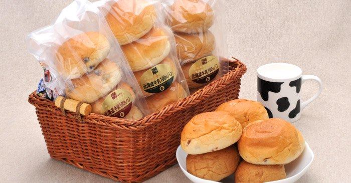 北海道牛乳100%ロールパン 画像3
