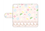 Pop Culture Cover for iPhone5/5S/SE 手帳型  by カナヘイ #10