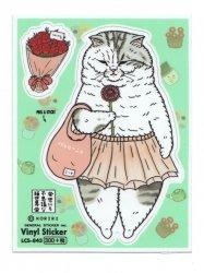 KORIRI 世にも不思議な猫世界 ゼネラルステッカー ミーヤちゃん