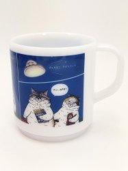 KORIRI 世にも不思議な猫世界 マグカップ