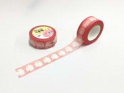 マスキングテープ カナヘイ/18mm ピンク