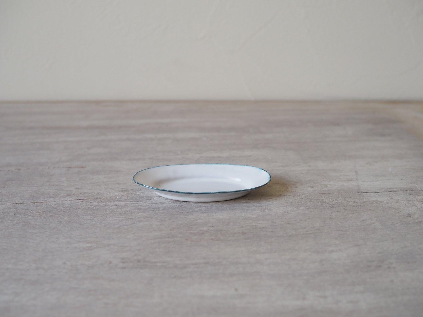 銅ホーロー オーバル皿 小