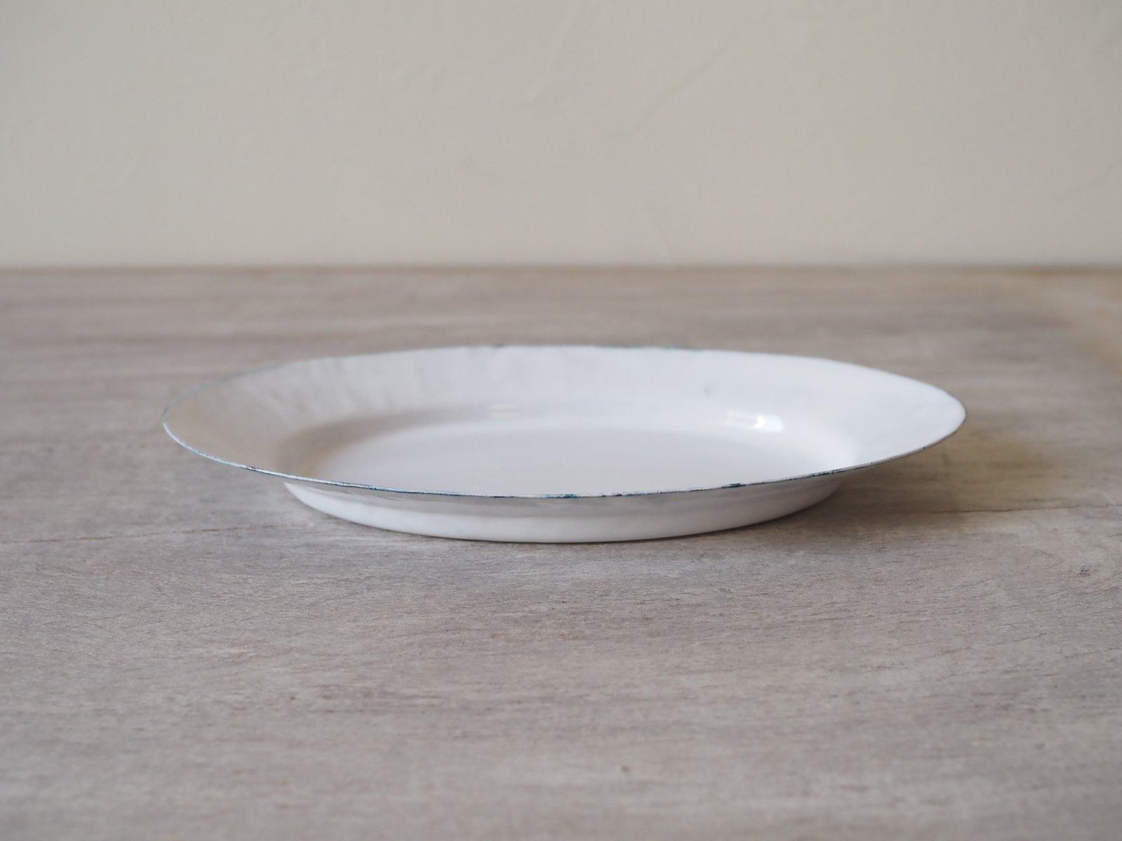 銅ホーロー オーバル皿 大