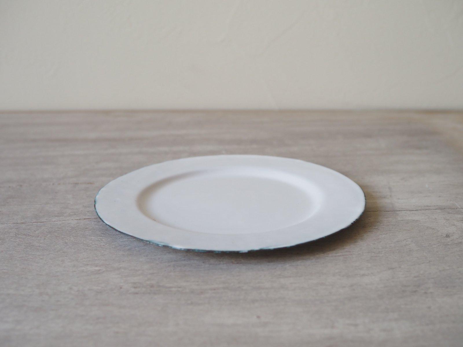 銅ホーロー リム皿