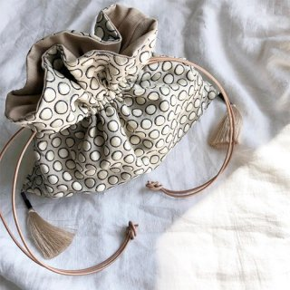 dot tassel  bag