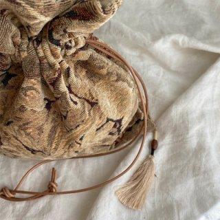 Vintage jacquard bag