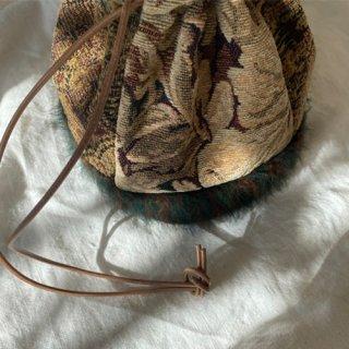 Vintage gobelin bag (G)