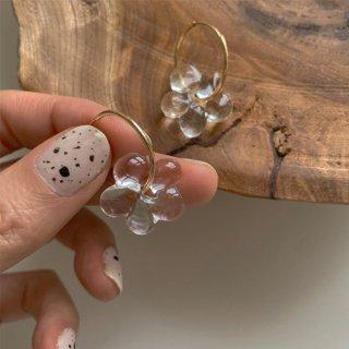 flower grass pierce (clear)